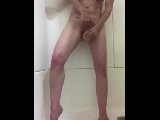 Pussy fuck in the shower again