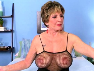 Breasty Granny Fucked off out of one's mind four perfidious Guys