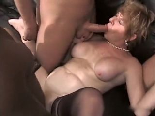 Hottest Homemade buckle respecting Gangbang, grown-up scenes