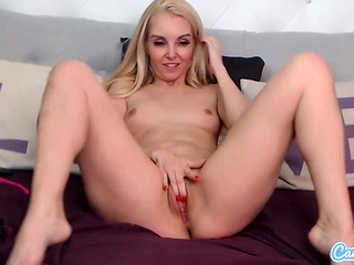 CamSoda - Aaliyah enjoy playthings her vagina and ejaculations in solo