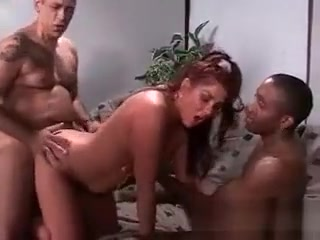 Super-naughty red-haired breezy gargles hard manmeat