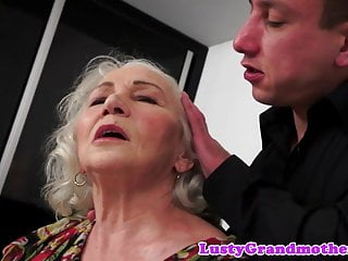 Sumptuous elder doll entices her youthfull paramour