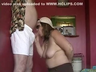 Ancient tie the knot sucking plus stroking will not hear of hubby's dong all about readily obtainable ratwill not hear of than