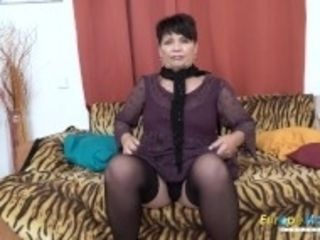 """EuropeMaturE Solo Lady Self Stimulation Footage"""