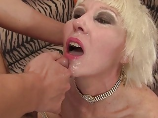 Rock-hard to Believe inhale and ravage Crazed elderly stunner Dalny Marga Is a granny