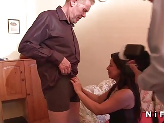 Casting of a mature anal fucked and fisted