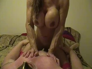 Electra gives inhale Job,switch sides inhale Job pulverize you and gets cumed on her face