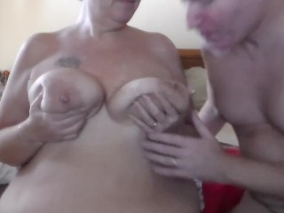 John is Sucking and Licking on Jens Nipple