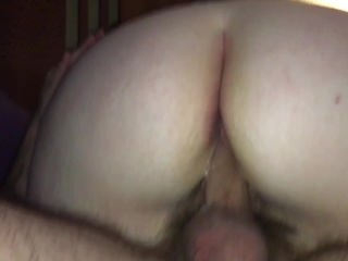 Whore wife creampied by old man and husband
