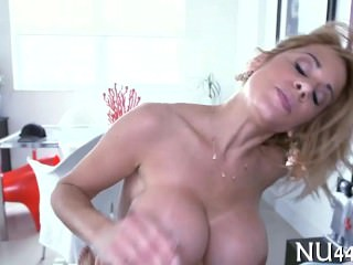 Fun with hot oiled beauty