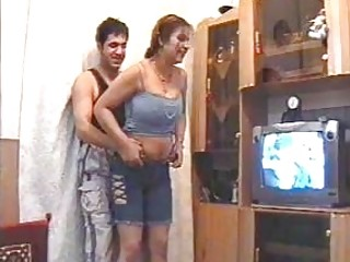 Big-boobed unexperienced Iranian housewife gets nailed in a homemade flick