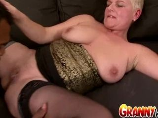 Grandma Vs big ebony cock - GILF DD Gets intensively tongued and meatpipeed by Her ebony BF|12::Cumshot,16::Mature,24::Interracial,38::HD,2301::Big me