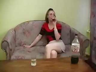 Mila 03 - slim russian mature with glasses fuck young boy