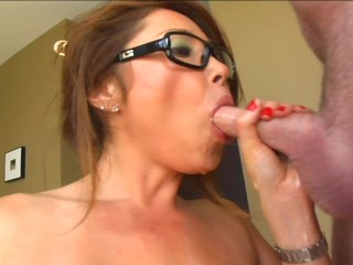 *CLASSIC huge-boobed huge hooter KIANNA DIOR* worker WILL DO ANYTHING TO SAVE JOB