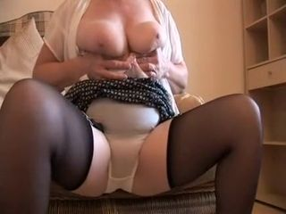 Staggering Homemade truss in fat breast, just scenes