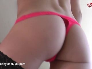 MyDirtyHobby - Busty hooker squirts all over dirty old man