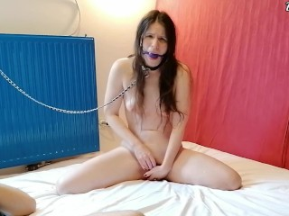 Master releases me from chastity and finally lets me cum! EvilKitties
