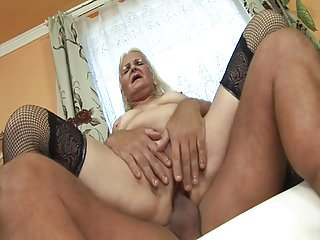 A difficulty horniest granny many times
