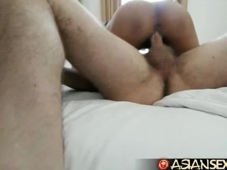 Chinese lovemaking Diary - meaty milky prick pulverizes Filipina honey in motel guest room