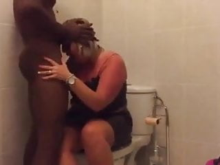 Good-sized wifey gets widened by big black cock