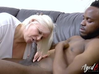 """""""AgedLovE Mature Lacey Starr gonzo Blowjob"""""""