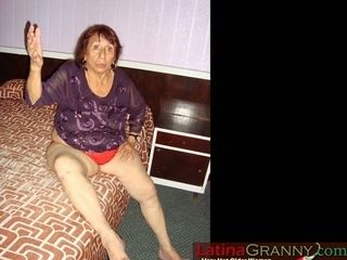 LatinaGrannY unclad Pictures assemblage Compilation