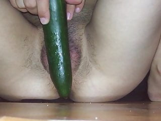 Toying with cucumber