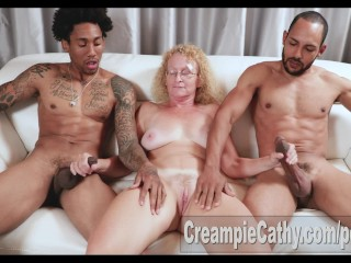Giant big black cock internal ejaculation For cougar