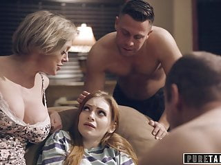 Unspoiled TABOO Step-Parents & Step-Bro Welcome fresh sister in law