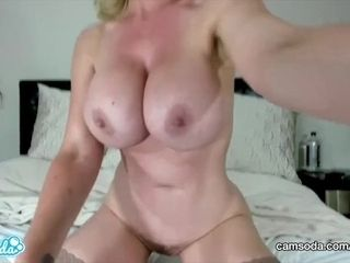 CamSoda - Nikki Benz sumptuous cougar faps and showcases off her good-sized bumpers|1::good-sized bumpers,25::Masturbation,26::Blonde,38::HD