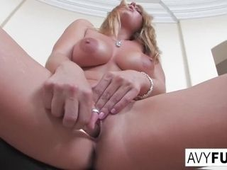Fabulous Avy unclothes off a fabulous sundress in this softcore solo for you to enjoy|1::Big titties,20::MILF,25::Masturbation,26::Blonde,38::HD