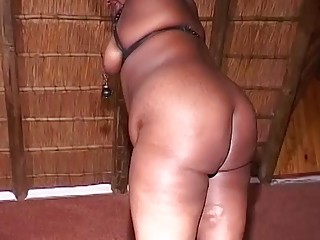 fat african moms first fetish lesson