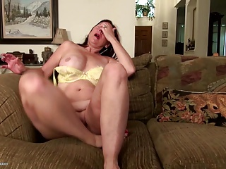 Kinky old granny needs a good fuck