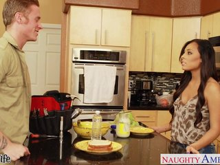 Superb wife Gianna Nicole gets nailed