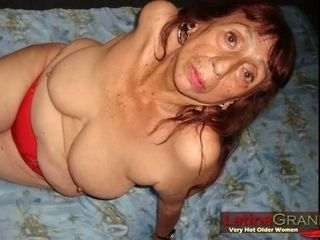 LatinaGrannY largely grey grown-up bosom together with Nudes