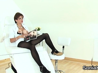 Cuckold brit mature woman sonia uncovers her monster knock