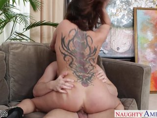 Busty tattooed wife Tory Lane fuck