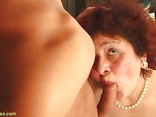 Plus-size mother naughty plowed by her toyboy