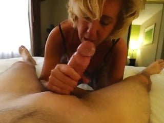 blonde mature drilled by a big dick!
