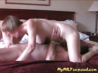 My MILF exposed Our home made sex video for everyone to see