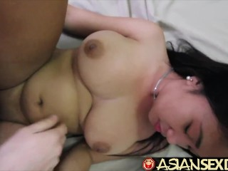 Chinese hookup Diary - chinese humungous titted beotches gets milky beef whistle