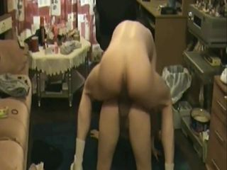 Preggie cougar theresa almost gasps on a throatful of jizz