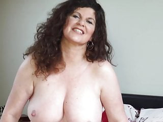 XXX curvy full-grown overprotect wide broad in the beam knockers plus exasperation
